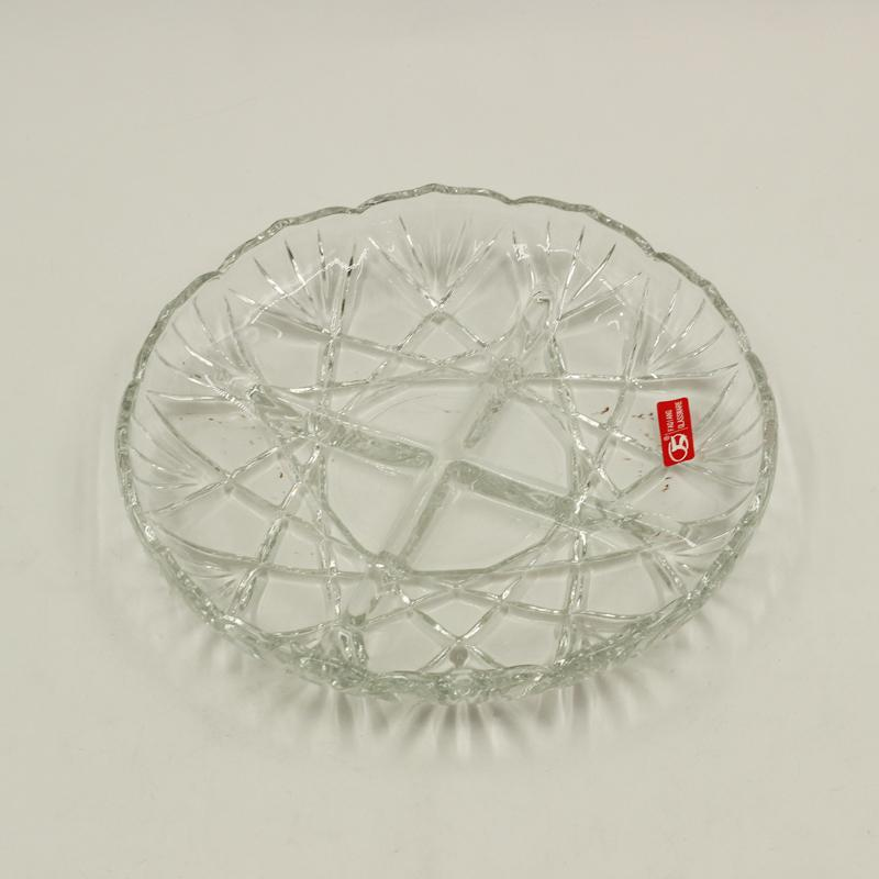 Glass Divided Plate
