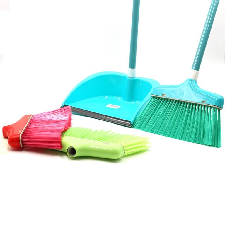 Dustpan with Long Handle