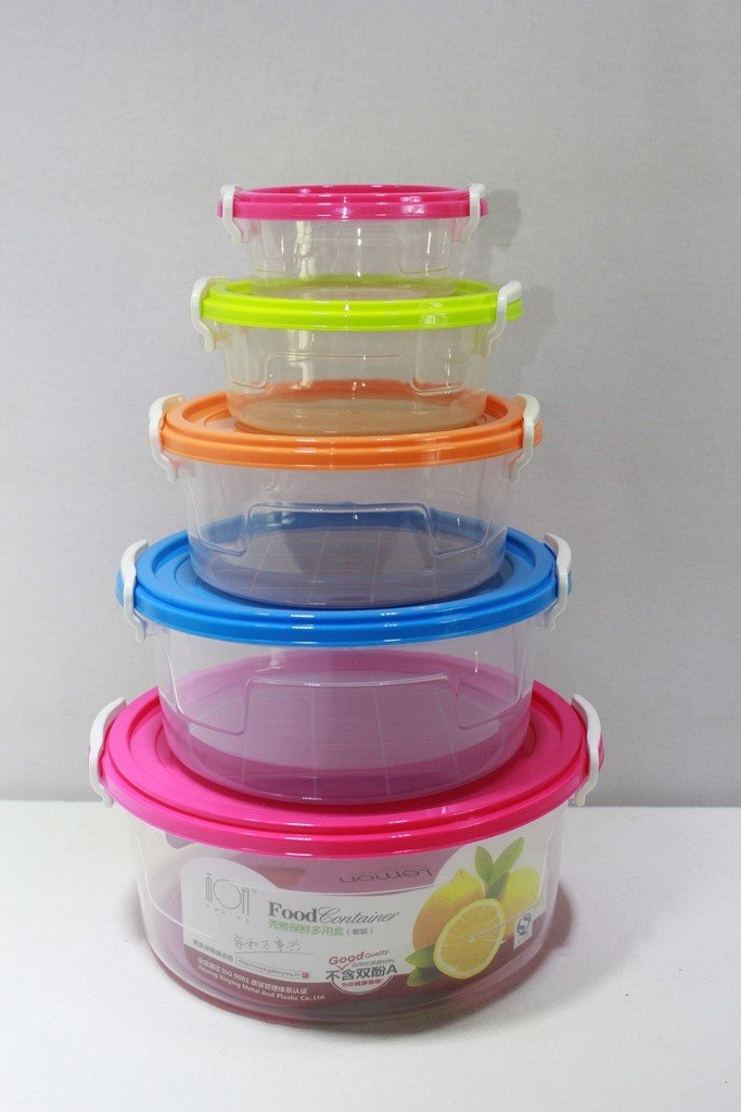 PLASTIC CONTAINER 5Pcs