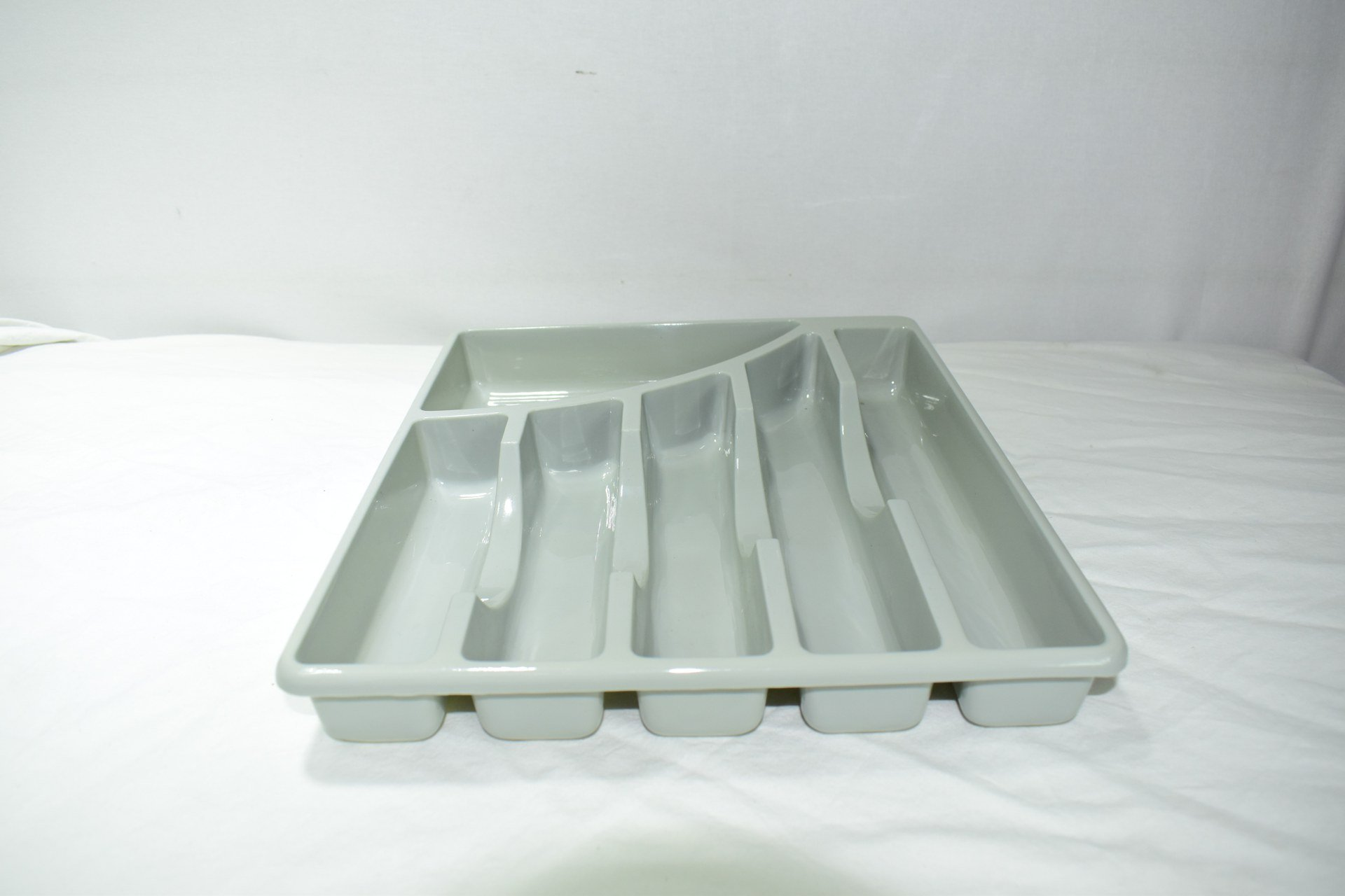 Plastic Grey Cutlery Tray