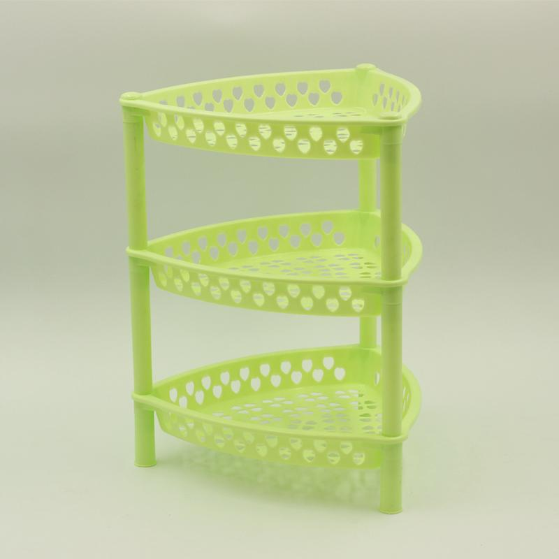 3 Tier Plastic Corner Fruit Rack