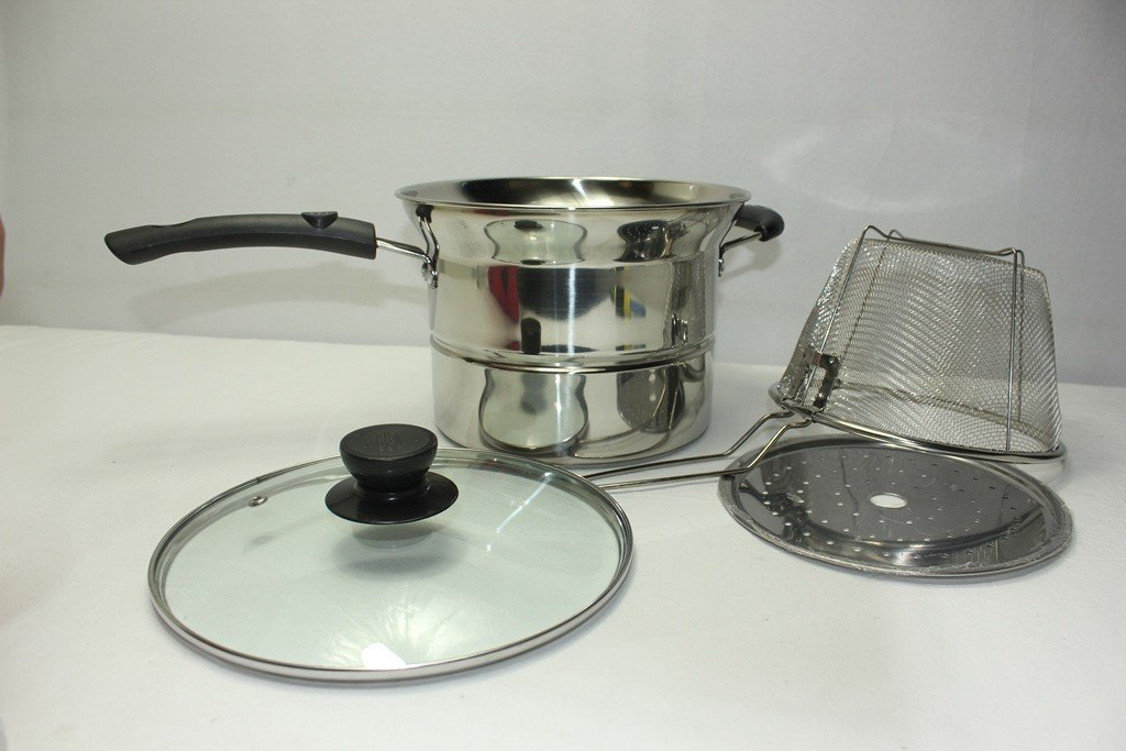Stainless Steel 21 cm Frying pot