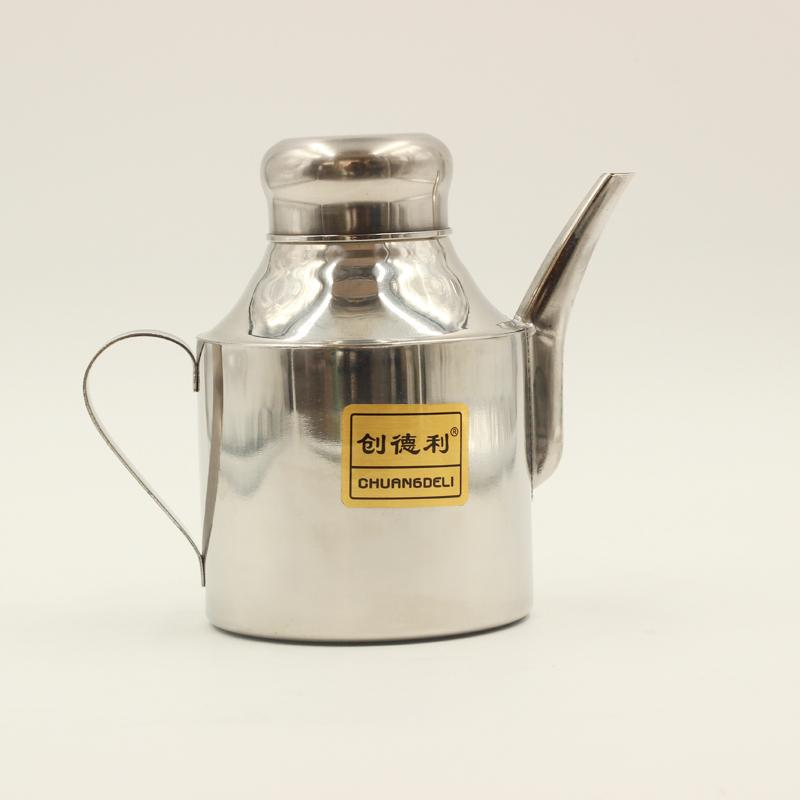 Stainless Steel Oil Can 24 Oz